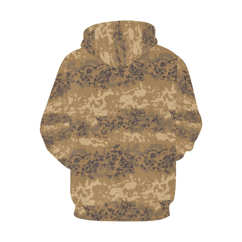 Austrian Jagdkommando pixeltarnung desert camouflage Hoodie for Men