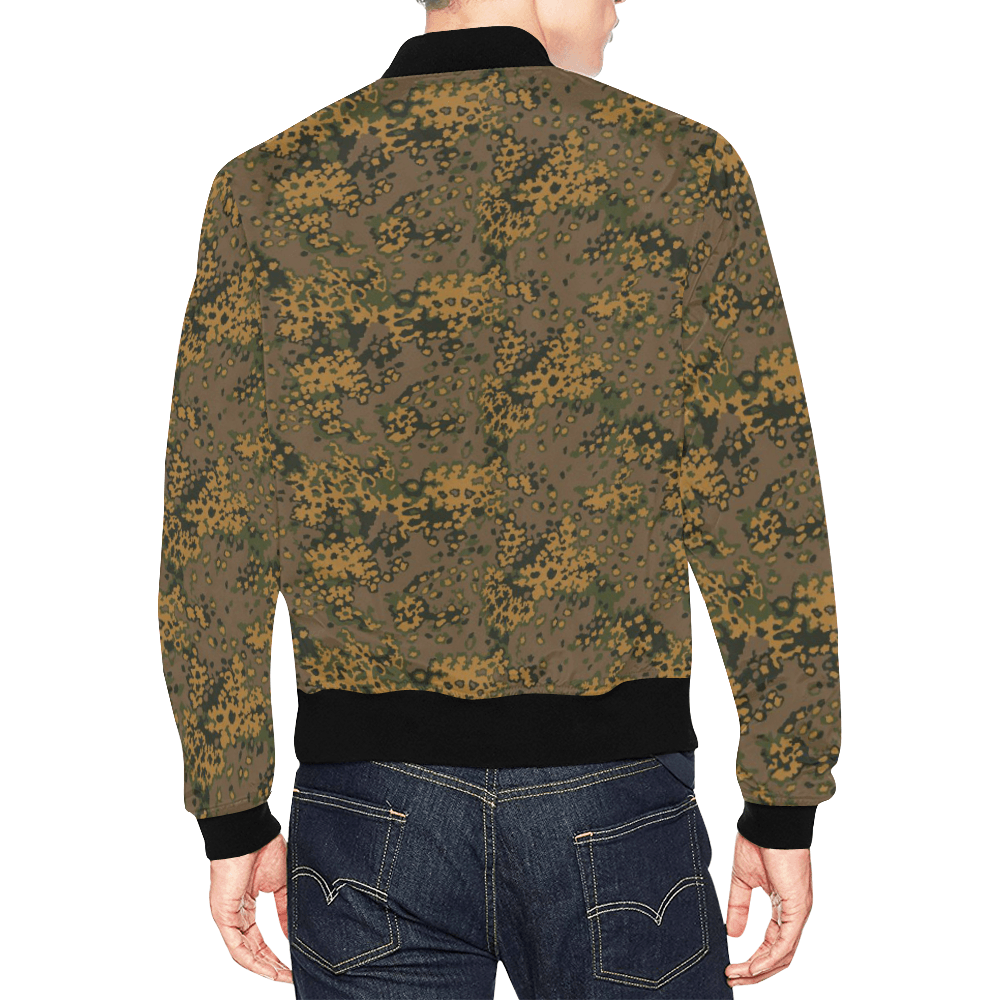 Eichenlaub fall camouflage Bomber Jacket for Men