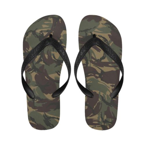 Russian Dark woodland DPM Flip Flops for Men/Women Free Shipping