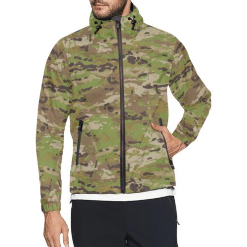 Australian AMCU camouflage Windbreaker for Men