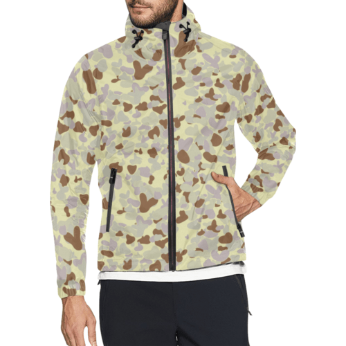 DESERT AUSCAM MKIII camouflage Windbreaker for Men
