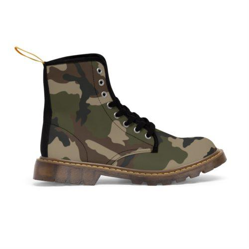 French Centre Europe CCE Camouflage Unique and Original Men's Martin Boots free Shipping