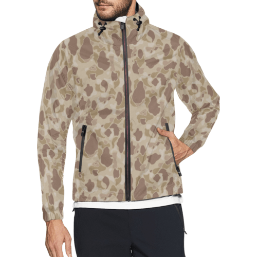 US duck hunter autumn camouflage Windbreaker for Men