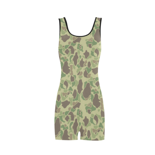 US duck hunter summer Camouflage Classic One Piece Swimwear