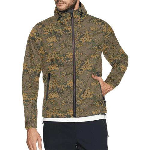 Eichenlaub fall camouflage Windbreaker for Men