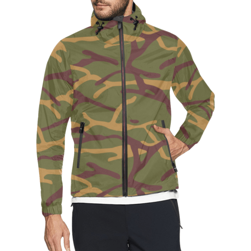 Yugoslav M68 MOL camouflage Windbreaker for Men