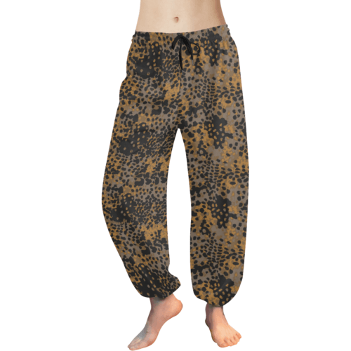Platanenmuster fall camouflage Women's Harem Pants