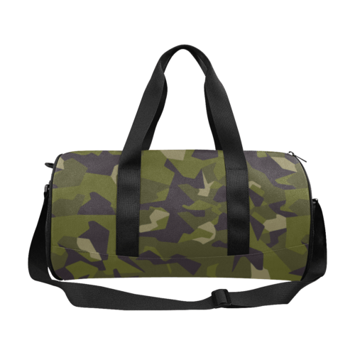 swedish M90 woodland camouflage Duffle Bag (Model 1679)