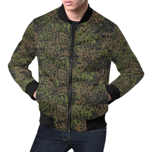 Platanenmuster summer camouflage Bomber Jacket