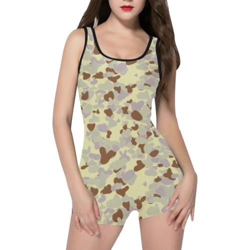 DESERT AUSCAM MKIII camouflage Classic One Piece Swimwear