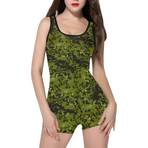 Danish M84 camouflage Classic One Piece Swimwear