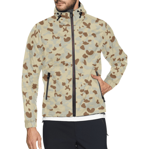 DESERT AUSCAM MKI camouflage Windbreaker for Men