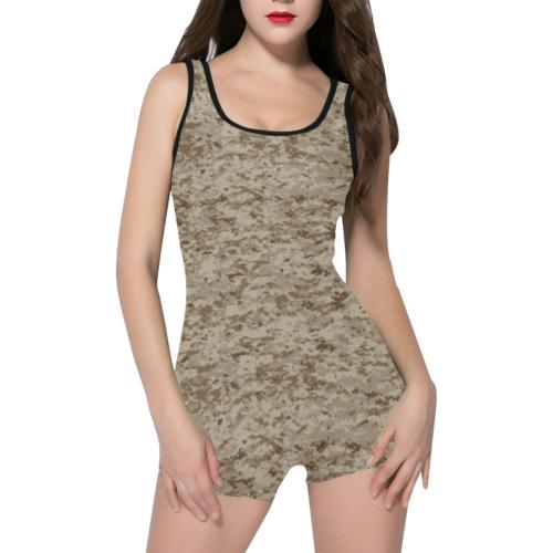 US AOR1 camouflage Classic One Piece Swimwear