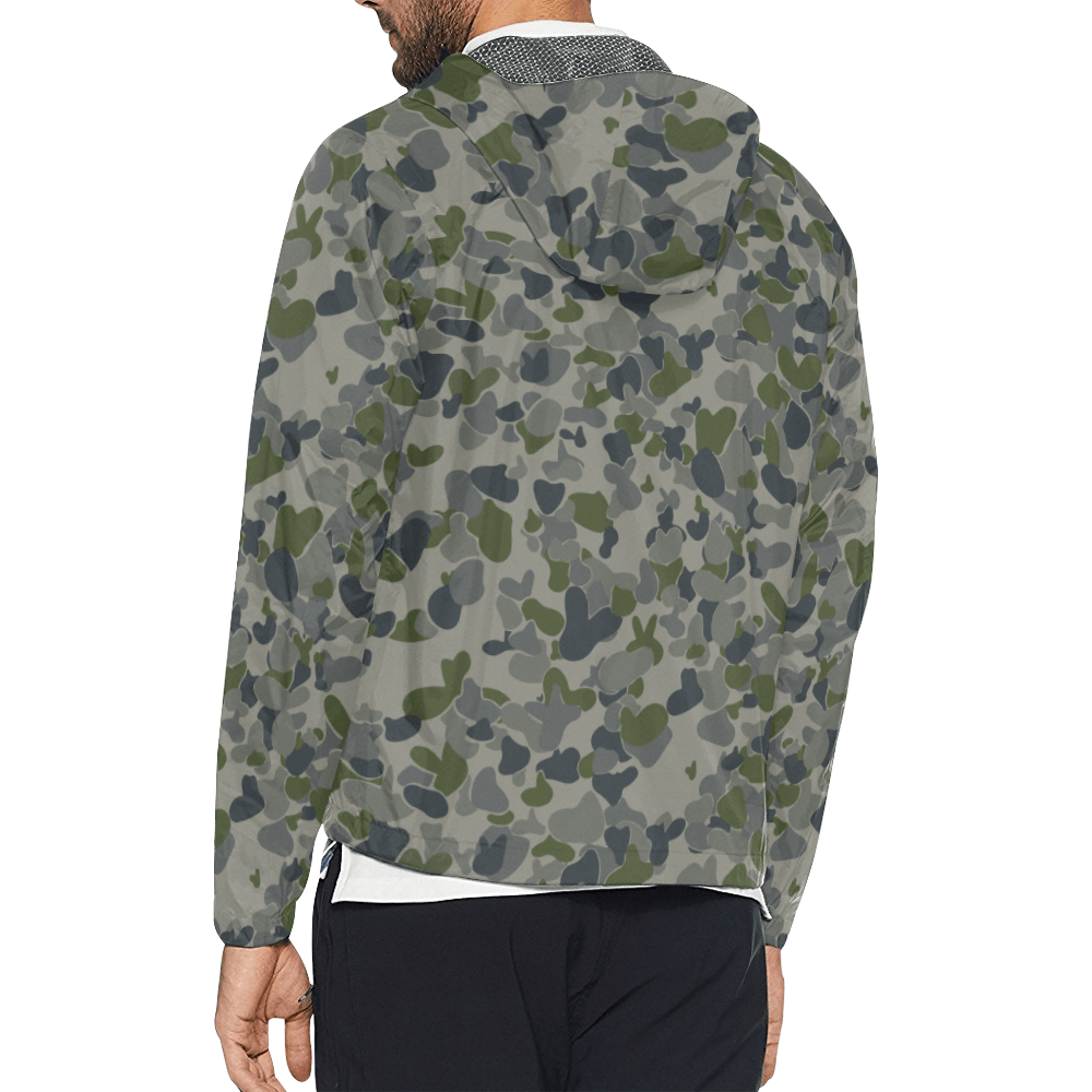 auscam dpnu camouflage Windbreaker for Men
