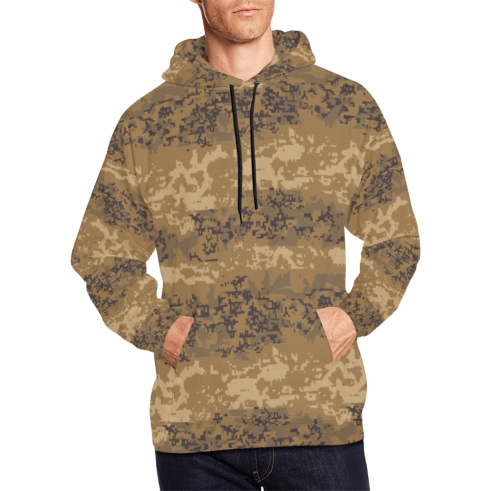 Austrian Jagdkommando pixeltarnung desert camouflage Hoodie
