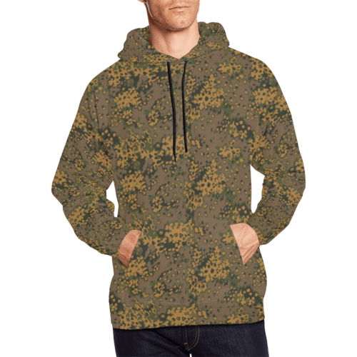 Eichenlaub fall camouflage Hoodie