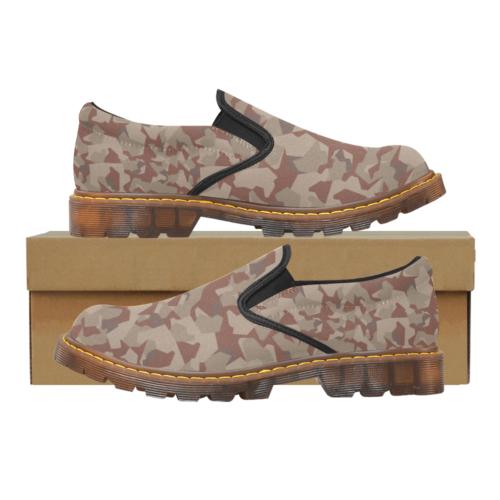 Swedish M90 Desert camouflage Martin Men's Slip-On loafer