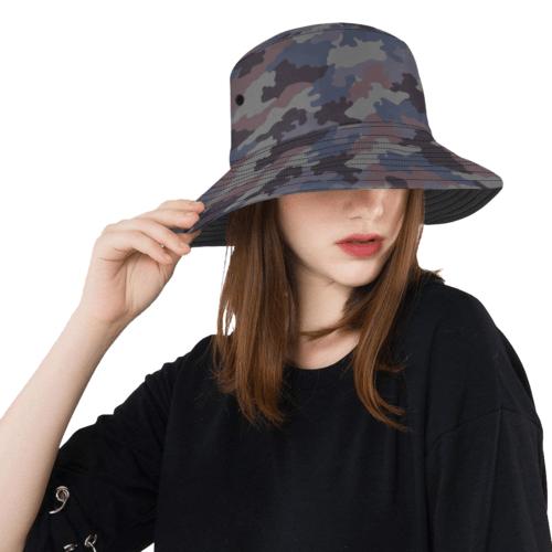 Yugoslav M89 Hrastov List urban camouflage  Bucket Hat