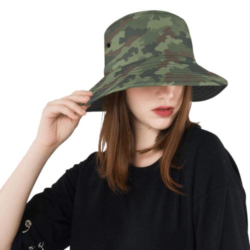 Yugoslav M89 Hrastov List camouflage  Bucket Hat