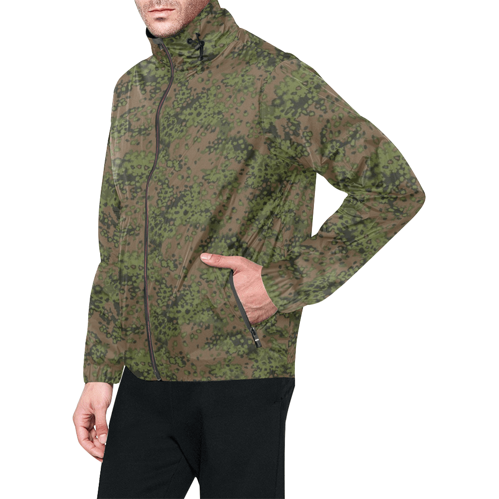 Eichenlaub summer camouflage Windbreaker for Men