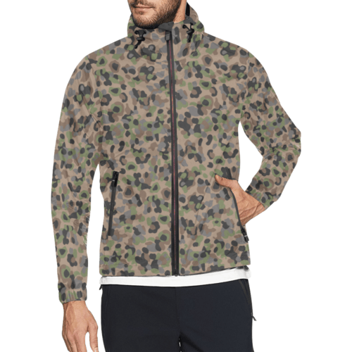 Austrian K4 Kampfanzug 59 camouflage Windbreaker for Men