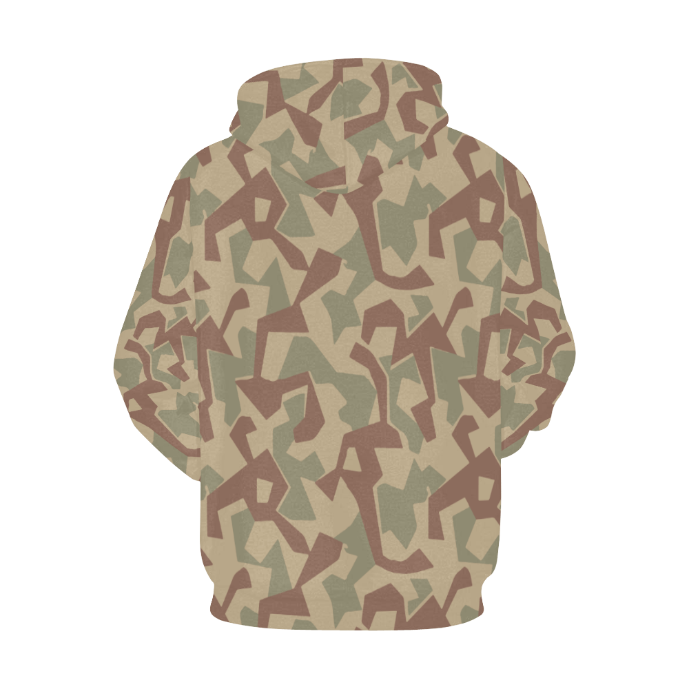 1946 bulgaria splinter camouflage Hoodie for Men