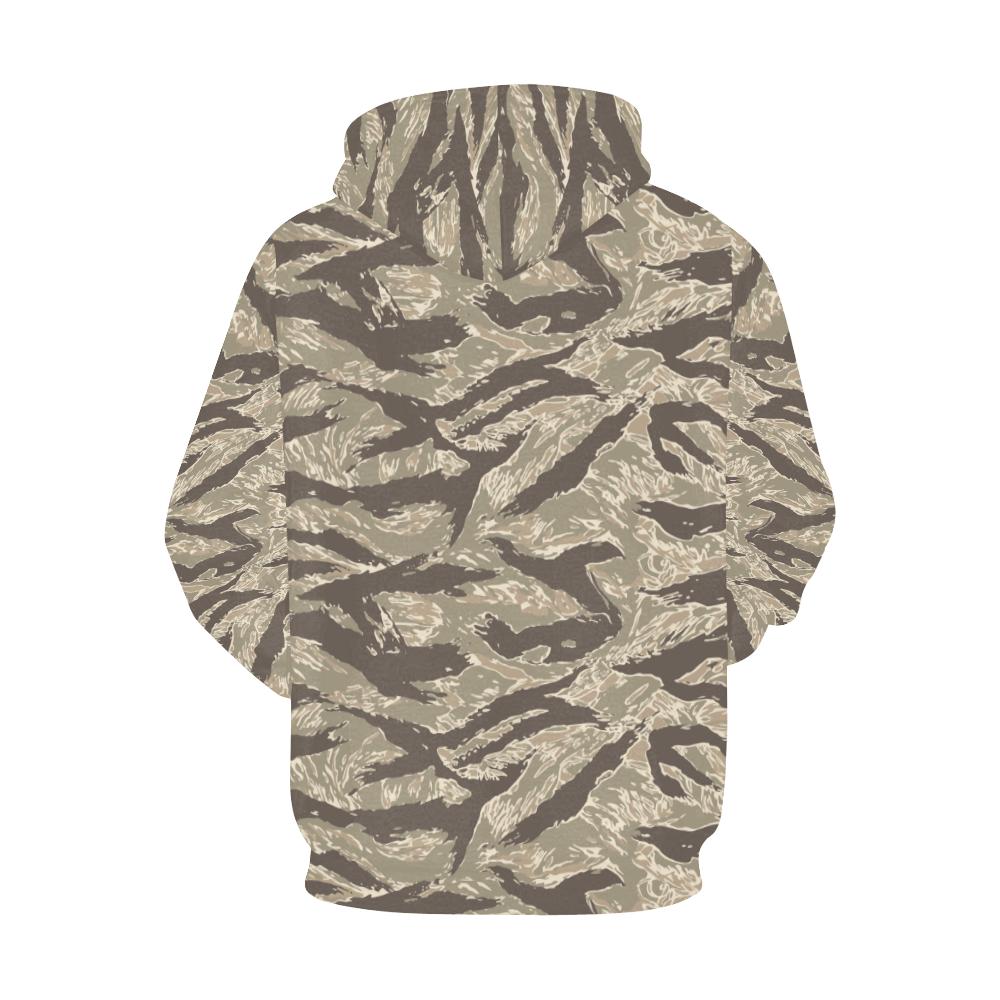 US desert Tiger stripes camouflage Hoodie for Men