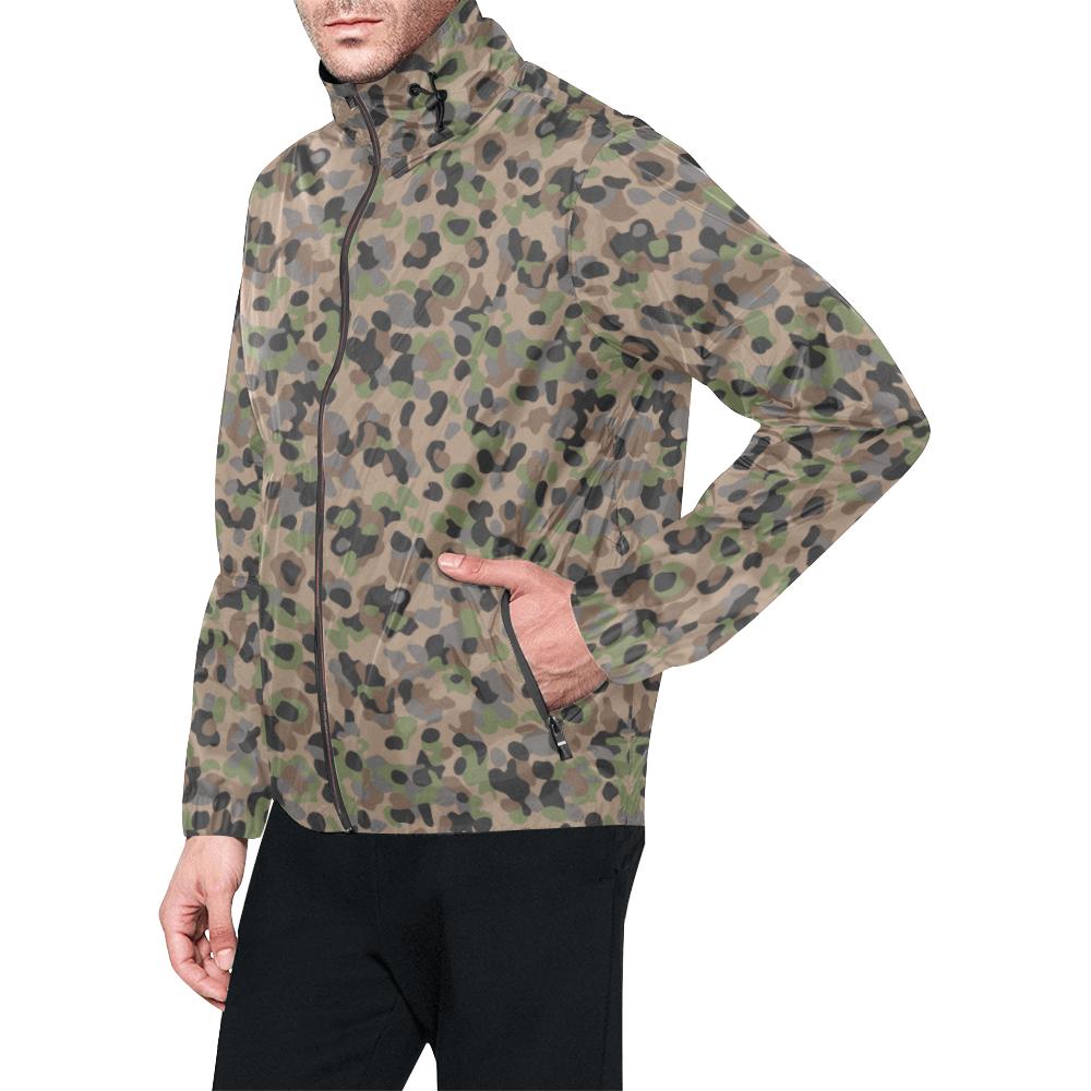 Austrian K4 Kampfanzug 59 camouflage Windbreaker for Men