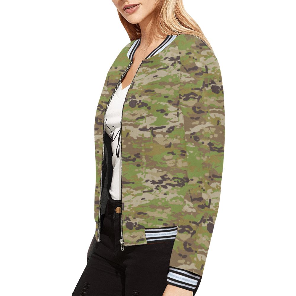 Australian AMCU camouflage Bomber Jacket for Women