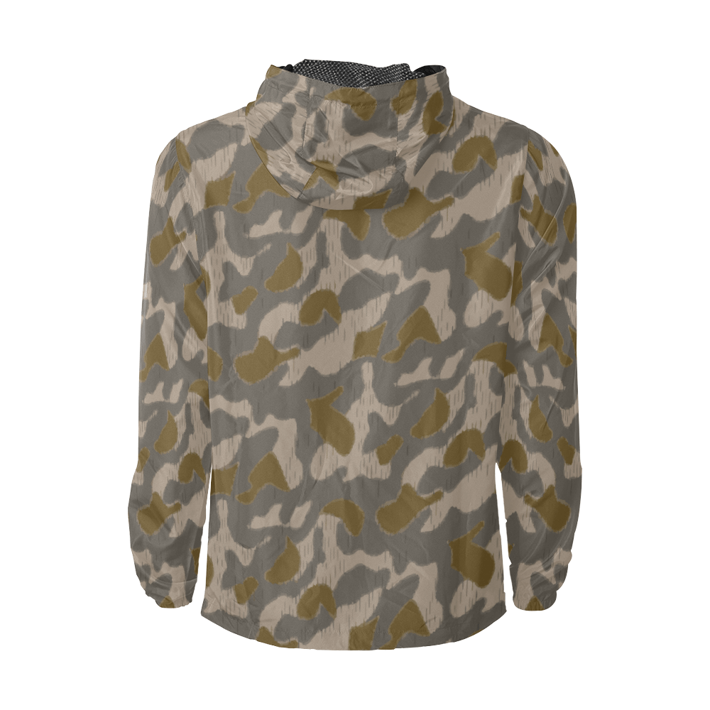 Austrian Sumpfmuster early pattern camouflage Windbreaker for Men