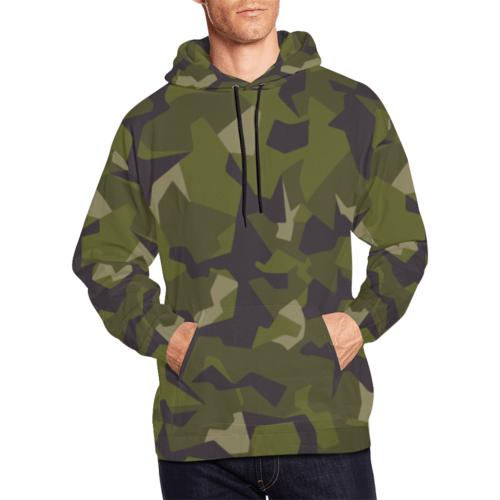 Swedish M90 woodland Camouflage Hoodie