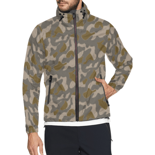 Austrian Sumpfmuster early pattern camouflage Windbreaker for Men