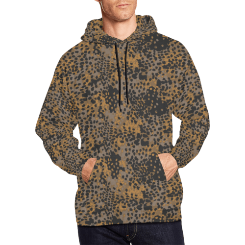 Platanenmuster fall camouflage Hoodie