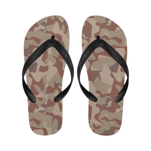 Swedish M90 Desert camouflage Flip Flops for Men/Women Free Shipping