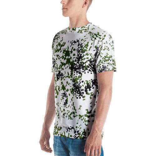 Snow Flecktarn Schneetarn fleck Men's T-shirt