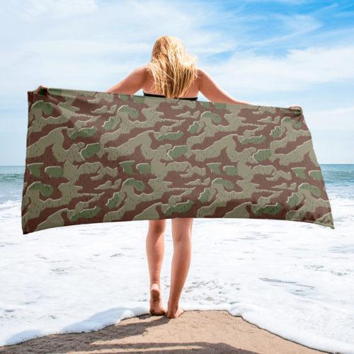 German Bundeswehr M56 – 60 Splittermuster starke Beach Towel
