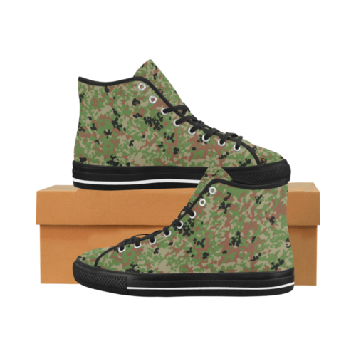 Japanese 1991 jietai camouflage Camoverse hi-top  Men's Canvas Shoes