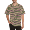 Kamush PFO camouflage Relaxed Short Sleeve Shirt with Lapel Collar