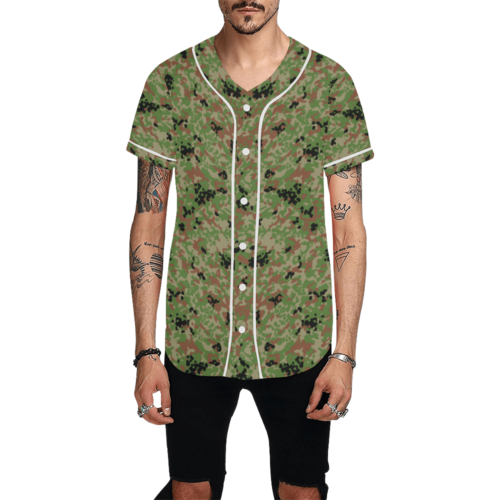 Japanese 1991 jietai camouflageBaseball Jersey for Men