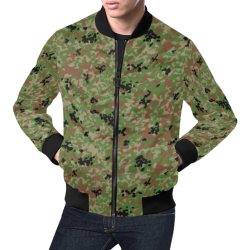 Japanese 1991 jietai camouflage All Over Print Bomber Jacket for Men