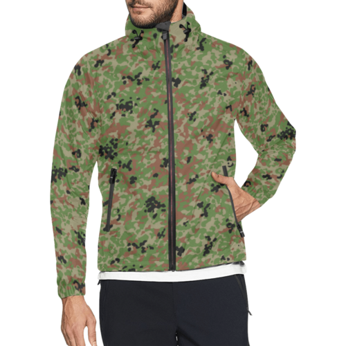 Japanese 1991 jietai camouflage Windbreaker for Men