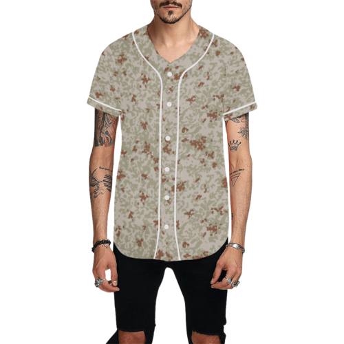 Japanese 2012 jietai desert camouflageBaseball Jersey for Men