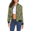 Japanese 1991 jietai camouflage All Over Print Bomber Jacket for Women