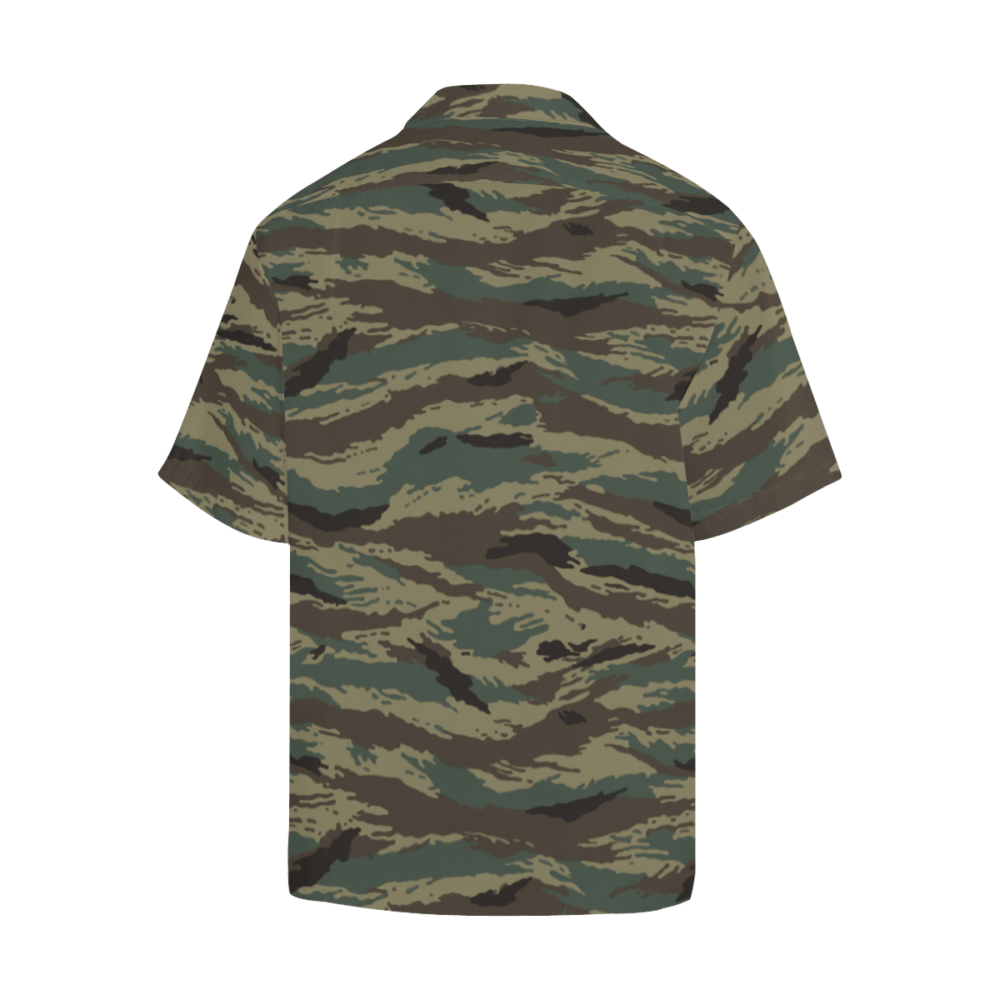 InterestPrint America Camo Casual Loose Fit Short Sleeve T-Shirt
