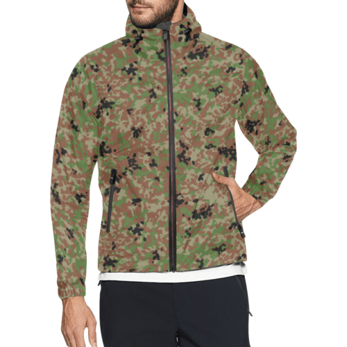 Japanese 1991 jietai winter Camouflage Windbreaker for Men