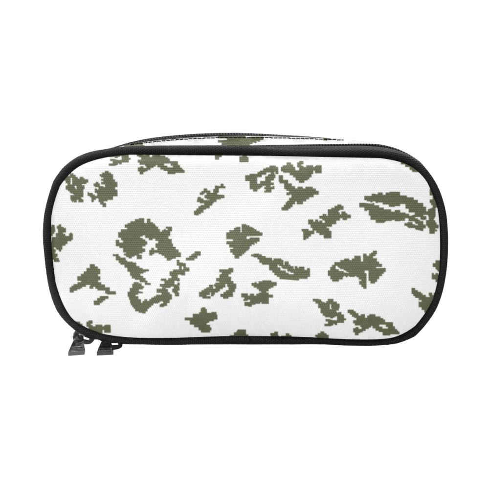 russian KLMK berehzka snow green leaf Pencil Pouch/Large