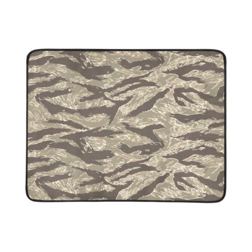 """US  Desert Tigerstripes camouflage Beach Mat 78""""x 60"""""""
