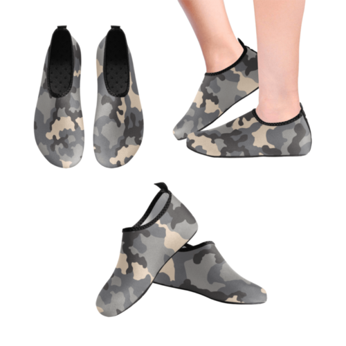 Russian KKO Gorod urban camouflage Men's Slip-On Water Shoes