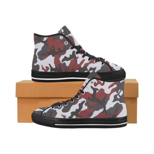 ERDL RED Camoverse hi-top  Men's Canvas Shoes