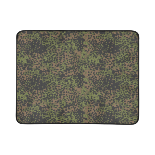 "Germany WWII Platanenmuster Spring camouflage Beach Mat 78""x 60"""